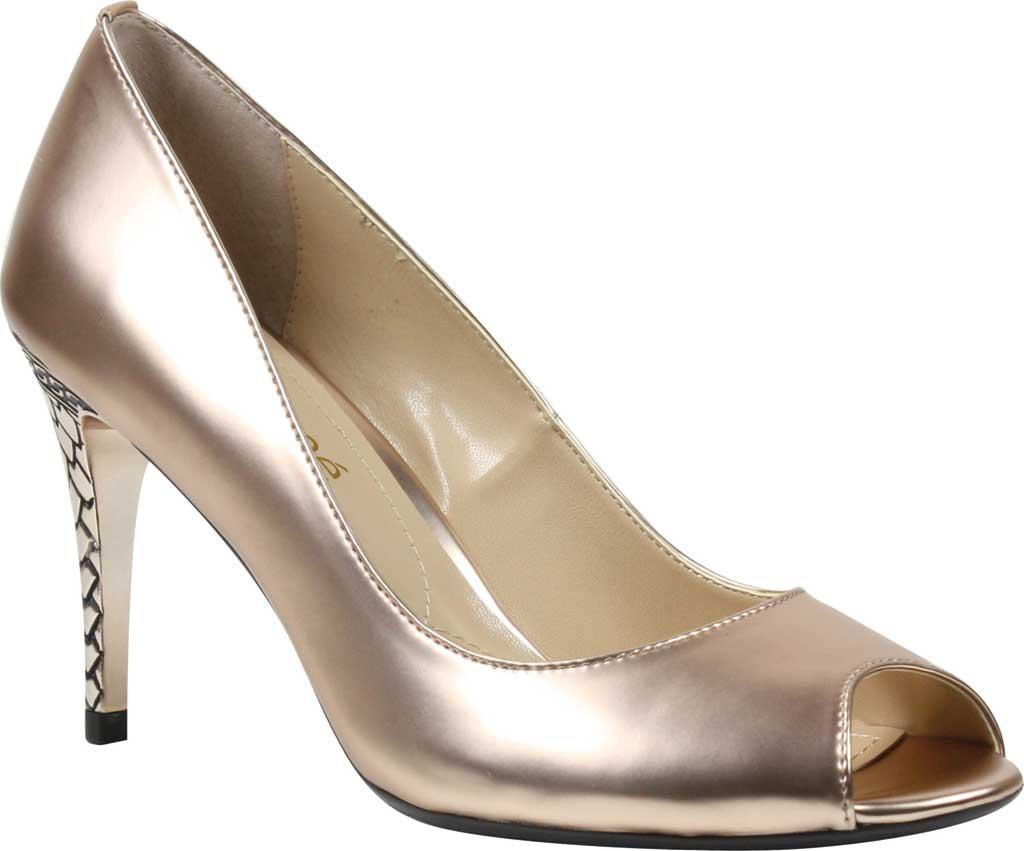 ab585fe121a Snazzy J Renee Rose G Syntic Lucera Peep Toe Pump J Renee Shoes Size ...