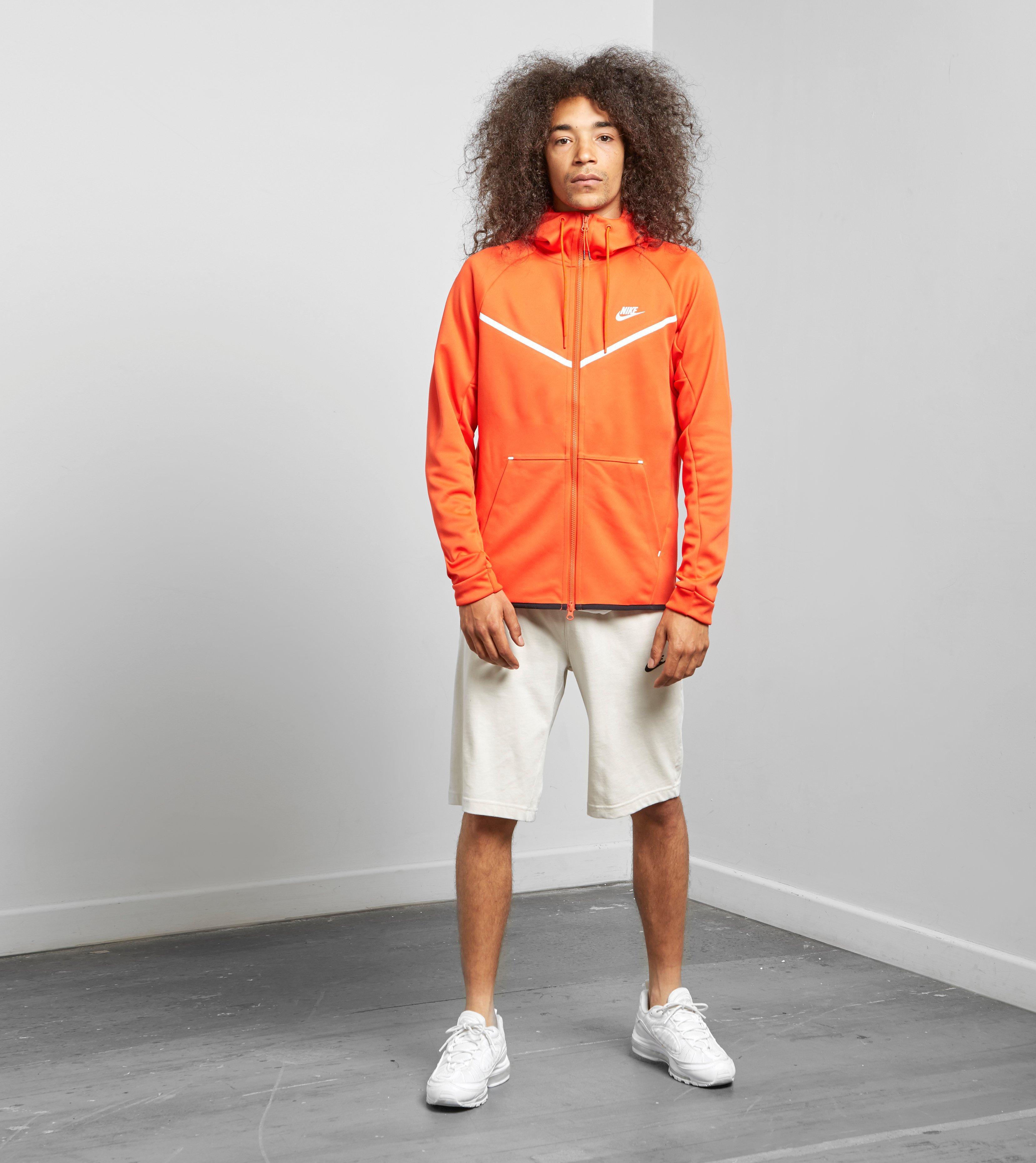84ca1996e045ea Lyst Nike Fleece Windrunner Full Zip Hoody In Orange For Men