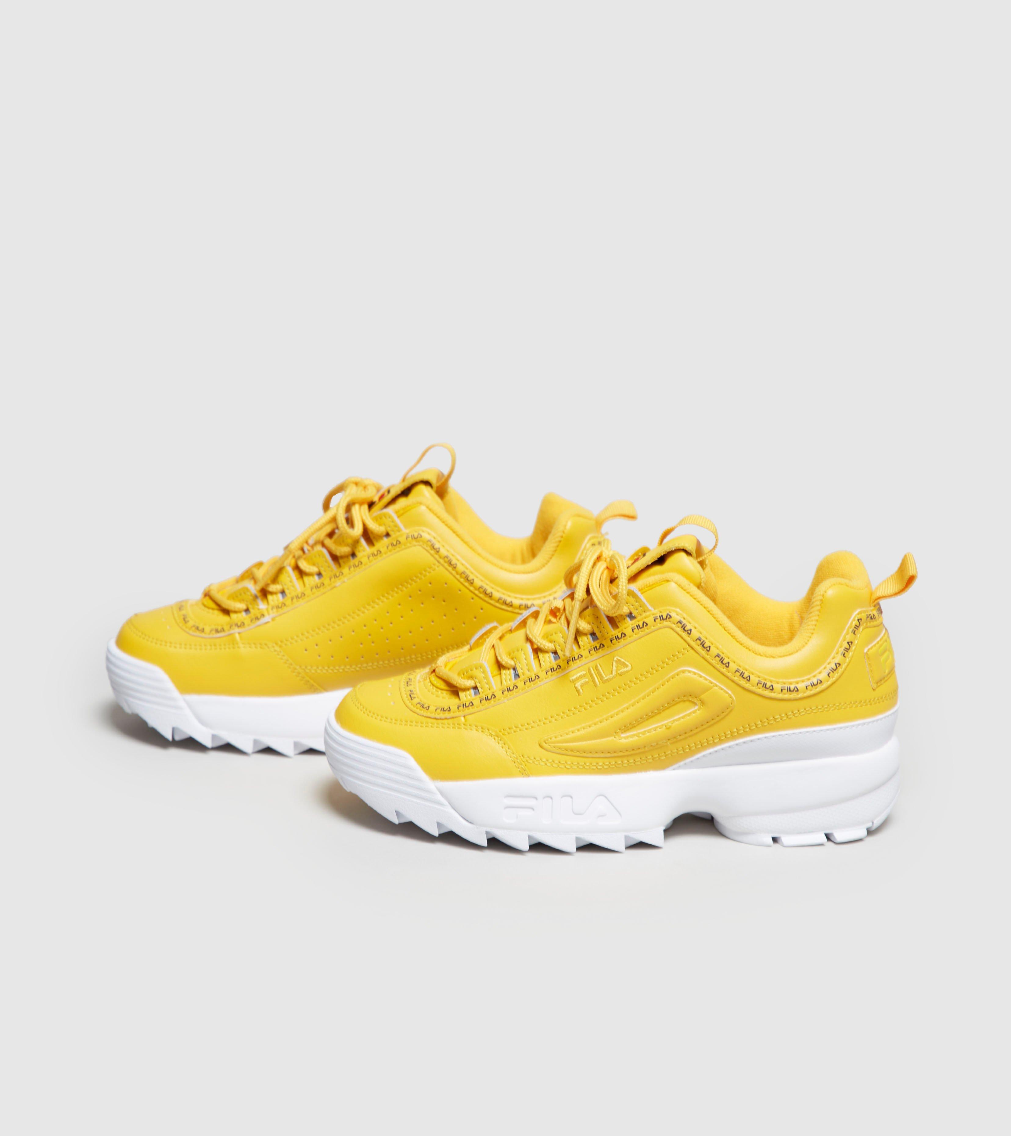 e692f20204d3 Lyst Fila Disruptor Ii Women S In Yellow