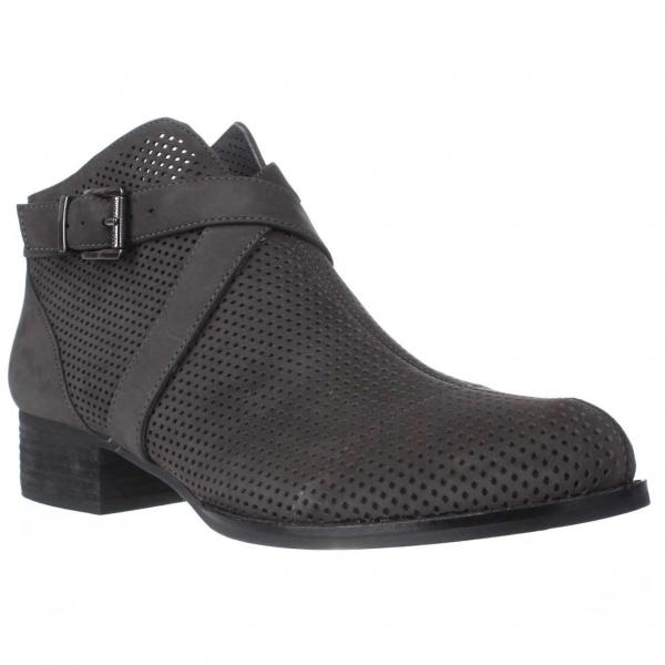 Lyst - Vince Camuto Casha Perforated Ankle Booties In Black