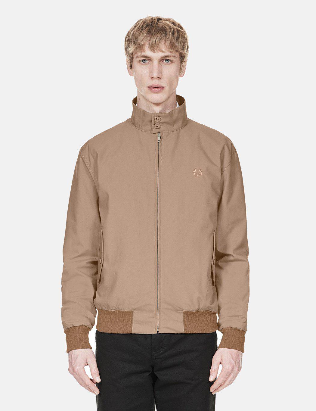 Fred Perry Re-issues Harrington Jacket (made In Uk) for Men - Lyst