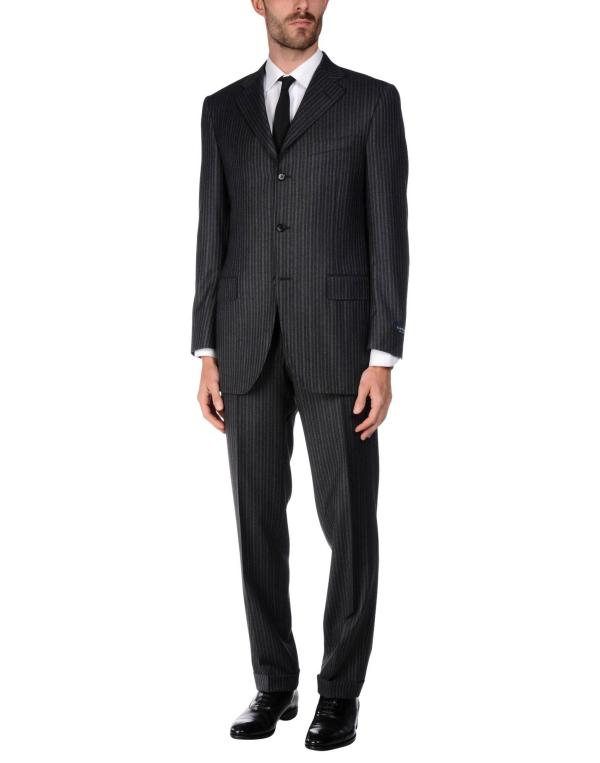 Canali Suit In Gray Men Lyst