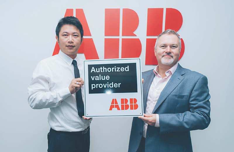 巨緯科技 榮登ABB「AVP通路夥伴」 - SA4 科技臺灣專刊/智慧製造篇 - 20180920 - 工商時報