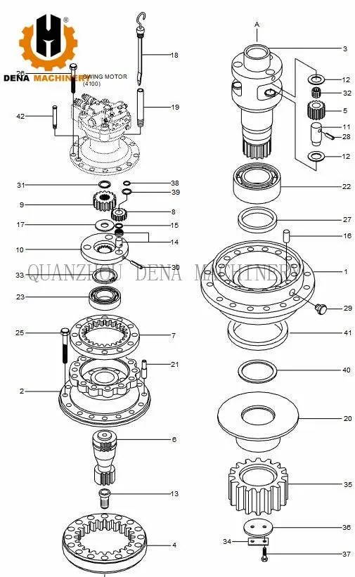 Low Price New promotion sell Crawler excavator parts