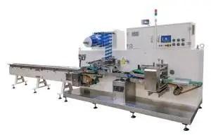 sanitary napkin packing machine sanitary napkin counting stacker wet wipes production line gachn