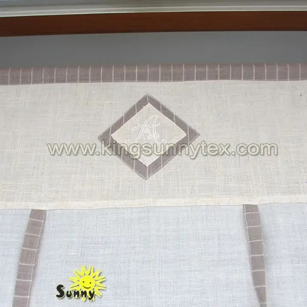 curtain fabric pillow case chair cover flax linen napkins kingsun
