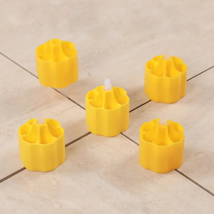screw type tile leveling system