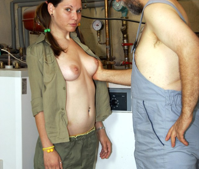 Old Mechanic Fucking A Dirty Xxx Dessert Picture