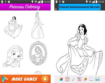 Kızlara Prenses Boyama 10 Apk Download For Android Com