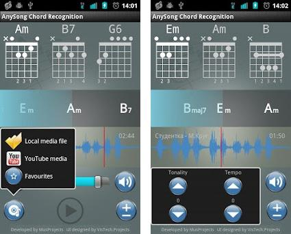 AnySong Chord Recognition on Windows PC Download Free - 2 0