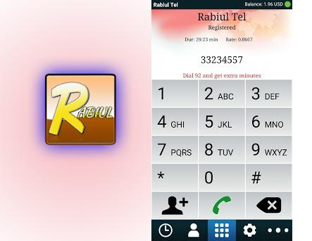 Rabiul Tel Mobile Dialer 5 9 1 apk download for Android • com