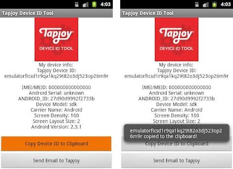 Tapjoy Device ID Tool 1 2 0 apk download for Android • com