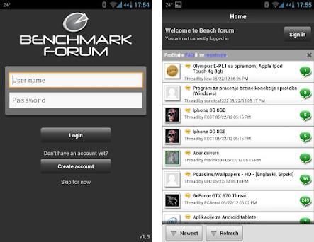 Benchmark Forum 1 3 apk download for Android • com vbulletin