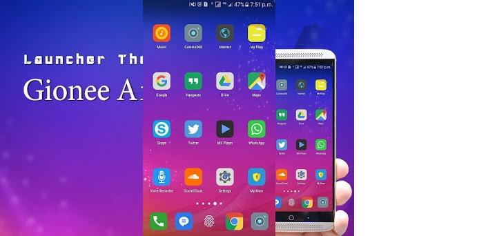 Theme for Gionee A1 Plus preview screenshot