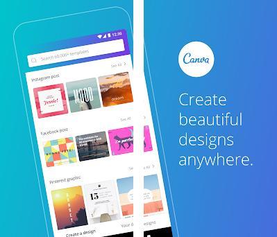 Canva: Crear Logos, Video Collages, Diseño Gráfico Capturas de pantalla