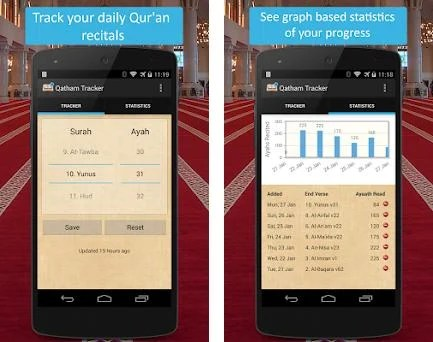 Qatham Tracker - Quran Recital 1 3 apk download for Android • com