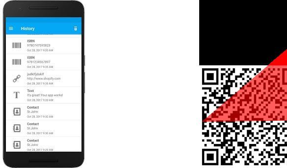 QR & Barcode Scanner PDF417 scanner, reader, scan 2 1 0 11