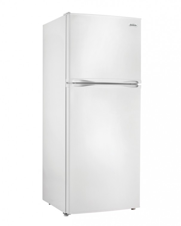 SBFF100C1W  Sunbeam 99 cu ft Apartment Size Refrigerator  EN