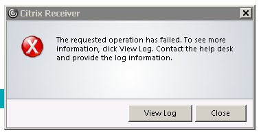Problems with installing Citrix Receiver 4.10 (Version 14.10.1.22) - Receiver for Windows 4.x - Discussions