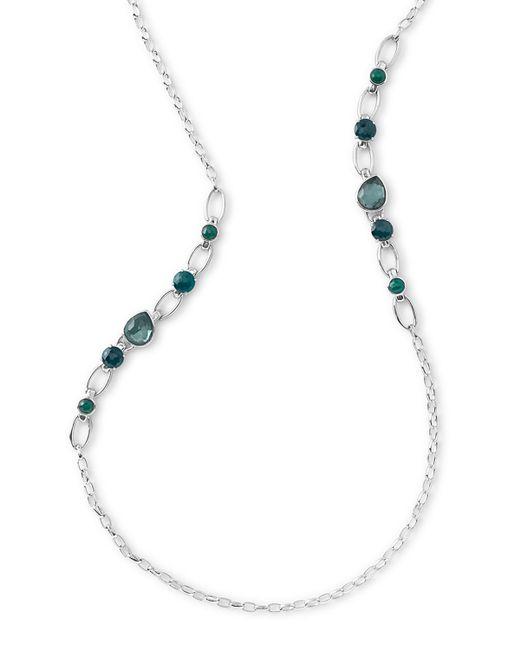 Ippolita Rock Candy Multi-stone Long Necklace In Neptune
