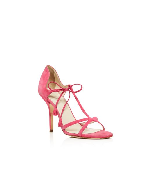 Frances Valentine Valentina T Strap High Heel Sandals In