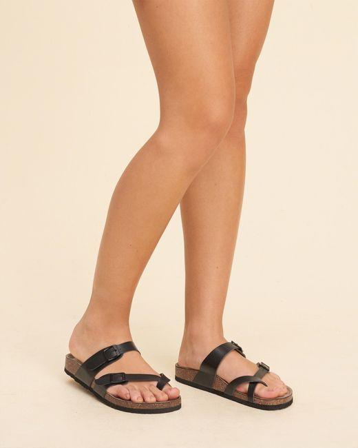 Hollister Madden Girl Bryceee Sandal in Black  Lyst