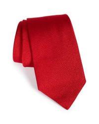 Lyst - Gitman Brothers Vintage Solid Silk Tie in Red for Men