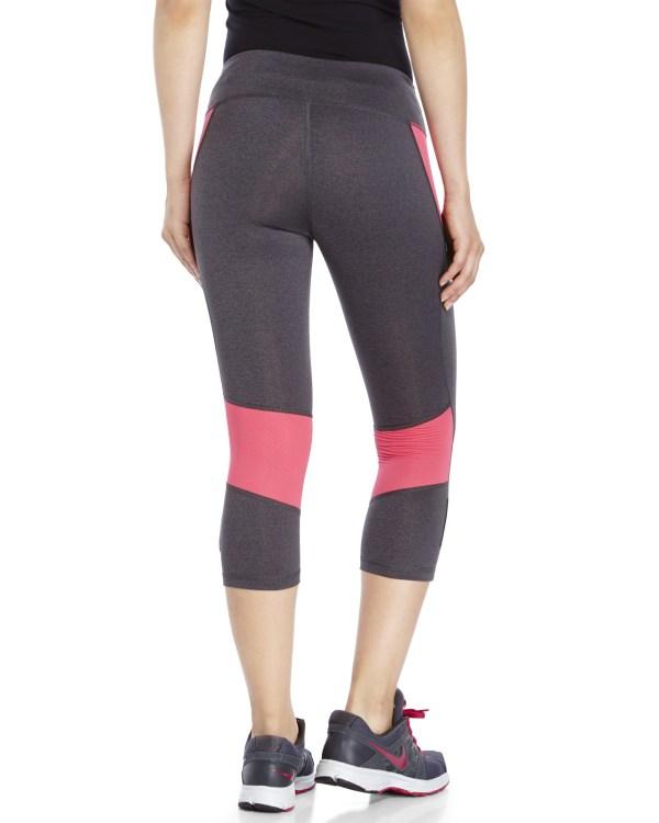 Lyst - Reebok Skinny Capri Pants In Gray