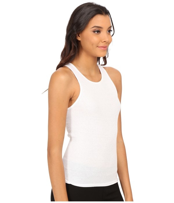 Lyst - Free People High Neck Muscle Tank Top In White
