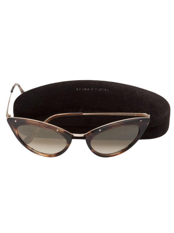 Tom Ford Donna Sunglasses In Brown Lyst