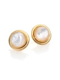 earings pearl stud