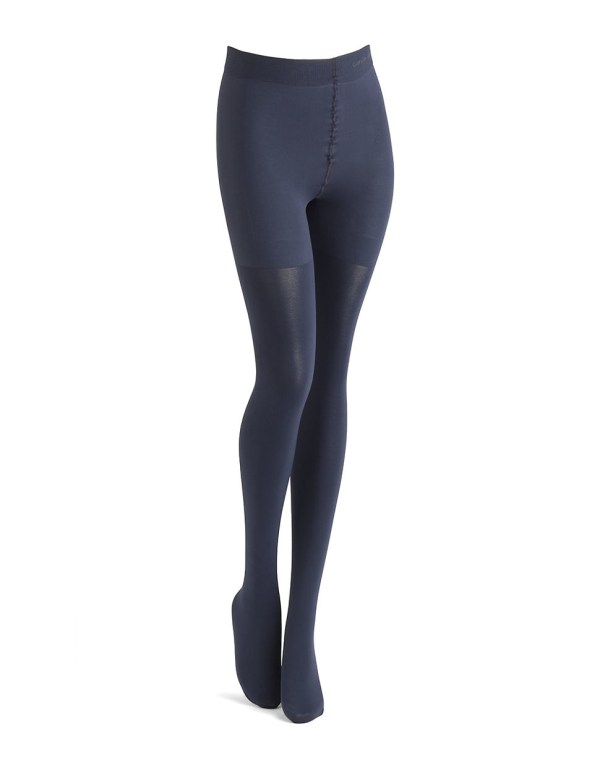 Calvin Klein Ultra Fit Matte Opaque Tights In Blue Lyst