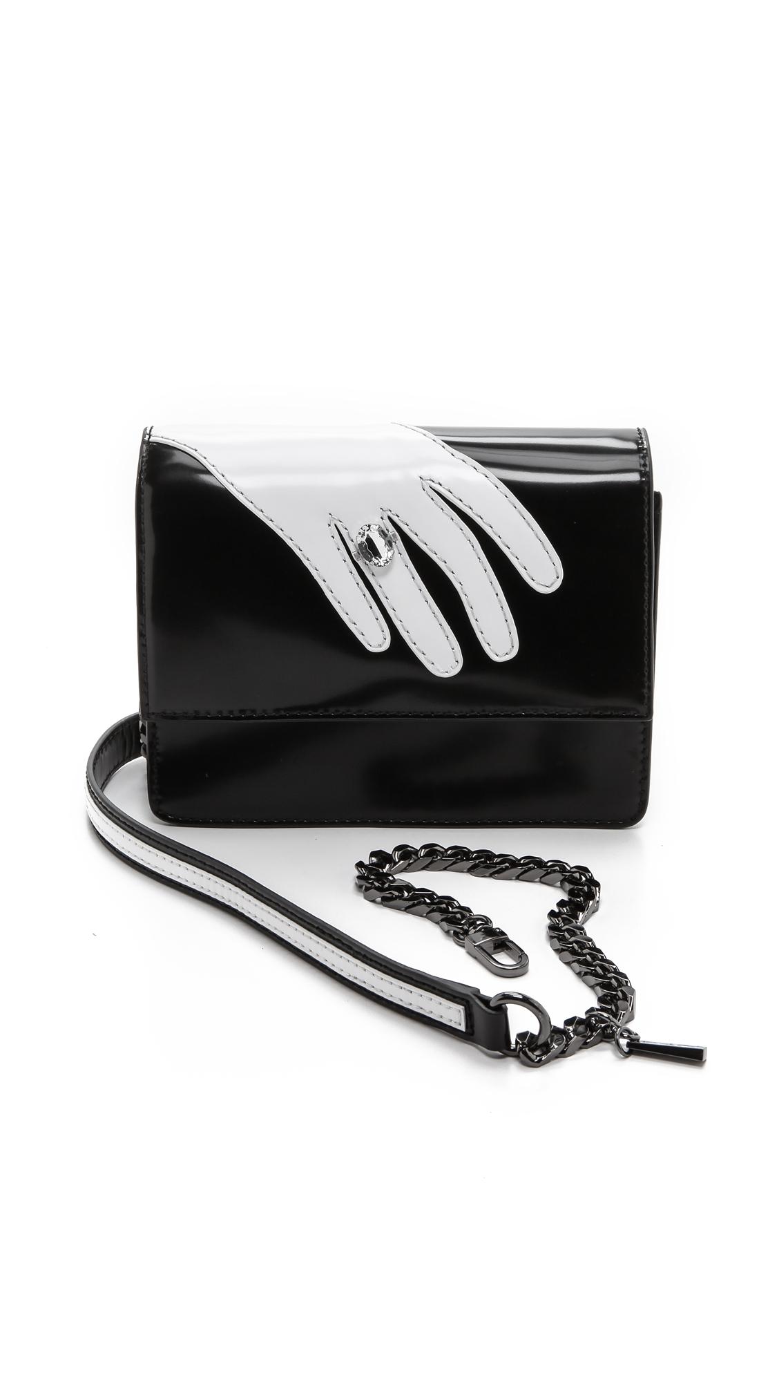 Alice + Olivia Alice Olivia Hand Clee Cross Body Bag Multi in Black - Lyst