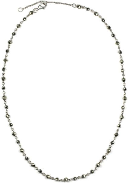Judith Jack Station Collar Necklace in Silver (sterling