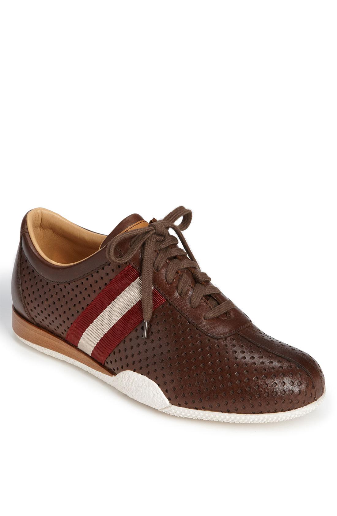 Bally Freenew Leather Sneaker In Brown For Men Havana