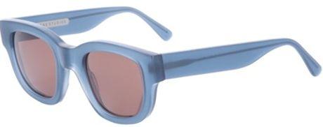 Acne Square Frame Sunglasses in Blue