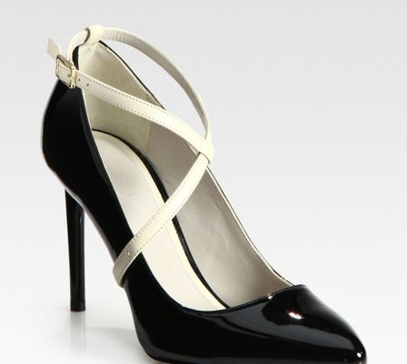 Jason Wu Christie Twotone Patent Leather Pumps