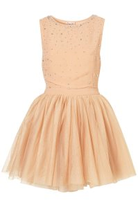 Lyst - Topshop Diamante Tulle Prom Dress By Dress Up ...