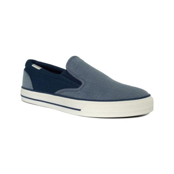 Converse Skid Grip Slip Sneakers In Blue Men Dark