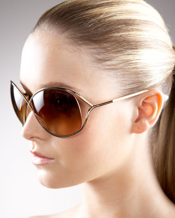 Tom Ford Miranda Sunglasses In Metallic Lyst