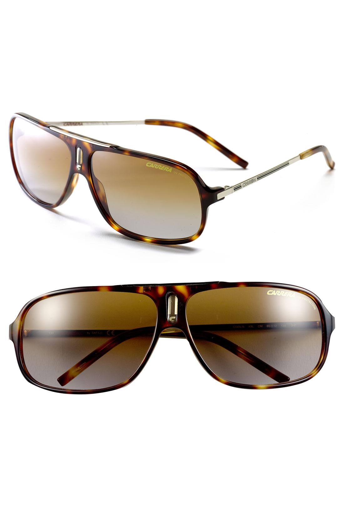 Carrera Eyewear Cool Aviator Sunglasses in Brown for Men ...