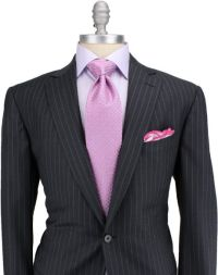 Shirt and tie suggestions for my first pinstripe suit ...