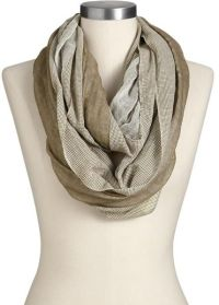 Old Navy Houndstoothedge Infinity Scarves in Beige ...