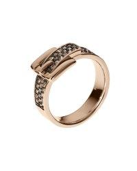 Rose Gold Ring: Michael Kors Pave Rose Gold Ring