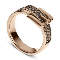 Rose Gold Ring: Michael Kors Rose Gold Ring