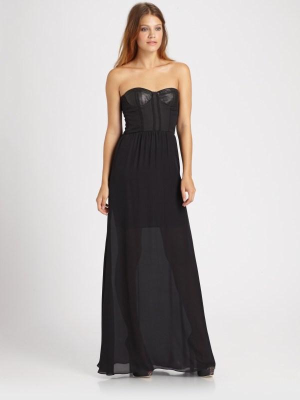 4e1dee675fc ... Dresses Alice and Olivia Leather Dress ...
