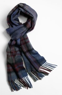 John W. Nordstrom Cashmere Scarf in Blue for Men | Lyst