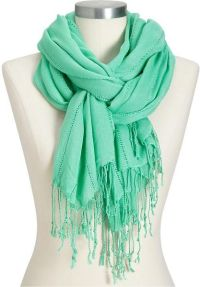 Old Navy Gauze Drop Stitch Scarf in Green (green goddess ...