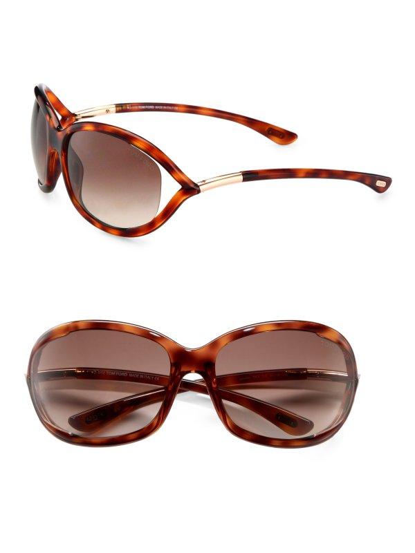 Lyst - Tom Ford Jennifer 61mm Oval Sunglasses Havana In Brown