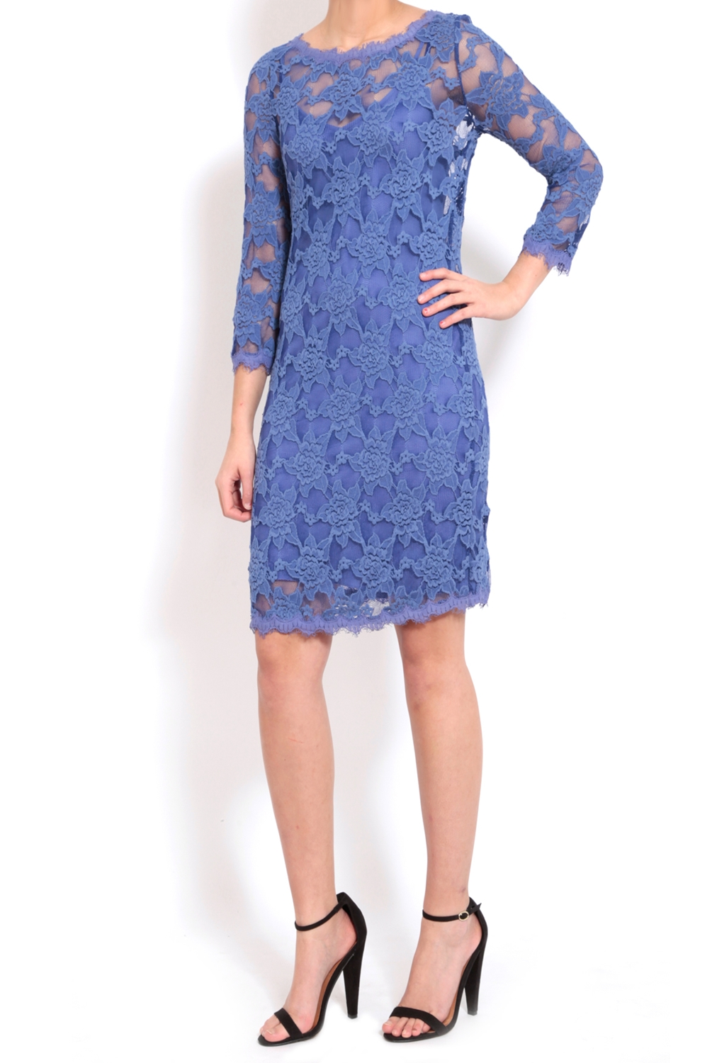 Rebecca Taylor Blue Silk Dress